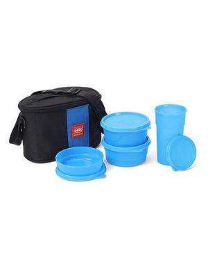 Cello Homeware Max Fresh Super Lunch Combo - Blue