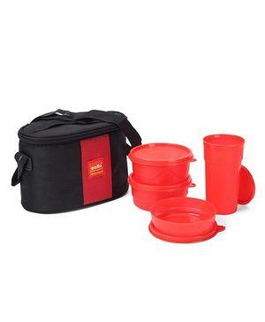 Cello Homeware Max Fresh Super Lunch Combo - Red