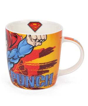 B Vishal Super Man Mug Multi Color - 300 ml