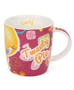 B Vishal Tweety Pie Mug Dark Pink - 300 ml
