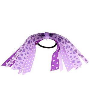 NeedyBee Baby Girls Ponytail Rubber Band - Purple