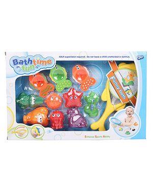 Comdaq Bathtime Fun Bath Toys Multicolor - 11 Pieces