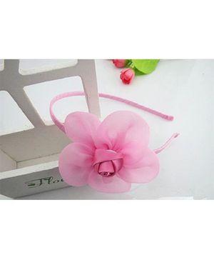 Angel Closet Beautiful Rose Hairband - Pink