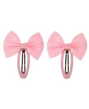 Angel Closet Beautiful Bow Clips Pink - Pair Of 2