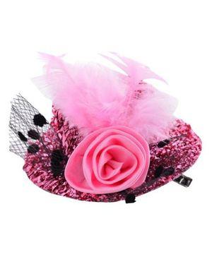 Angel Closet Stylish Hat Clip - Pink