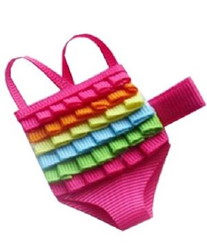 Angel Closet Swimming Costume Clip - Pink
