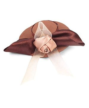 Sugarcart Small English Hat Clip  - Brown