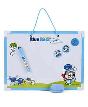 Deli Miss Rabbit White Board - Blue