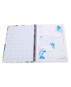 Bilt Matrix Junior Notebook Mickey Mouse And Friends Print - 160 Pages