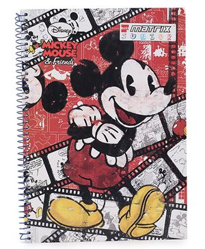 Bilt Matrix Junior Notebook Mickey Mouse & Friends Print - 172 Pages