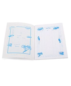 Bilt Matrix Junior Notebook Track Attack Print - 172 Pages