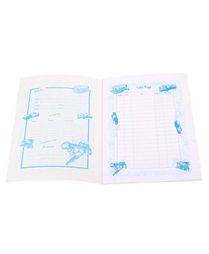 Bilt Matrix Junior Notebook Team Hotwheels Print - 172 Pages