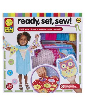 Alex Toys Ready Set Stew Learn To Sew Kit  Multicolor - 224 Pieces