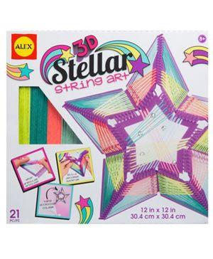Alex Toys 3d Stellar String Art Kit - Multicolor