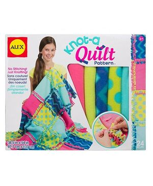 Alex Toys Knot A Quilt Pattern Craft Kit - Multicolor