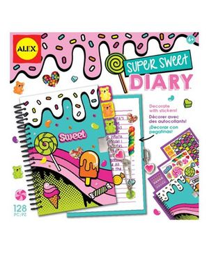 Alex Toys Super Sweet Diary - 48 Pages