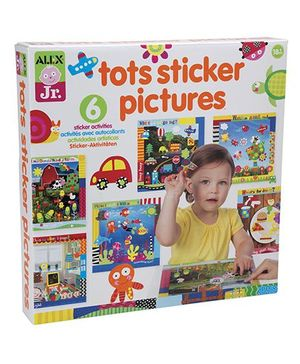 Alex Toys Tots Sticker Pictures - Multicolor