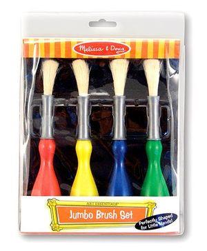 Melissa And Doug Jumbo Paint Brushes - Set Of 4