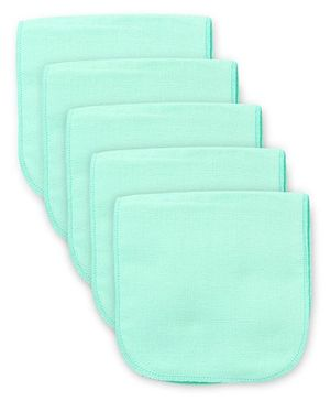 Babyhug Muslin Cotton Cloth Nappy Insert Pack Of 5 - Mint