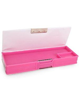 Chhota Bheem Magnetic Pencil Box Cartoon Print - Pink