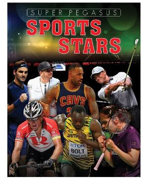 Pegasus Sports Stars Book - English