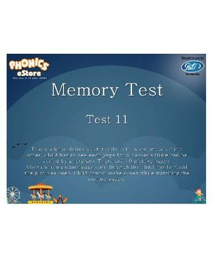 Pati's Memory Tests Downloadable Workbook 2 - English