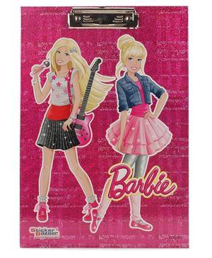Barbie Sparkle Writing Pad - Pink