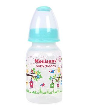 Morisons Baby Dreams Tree House PP Feeding Bottle Blue - 125 ml