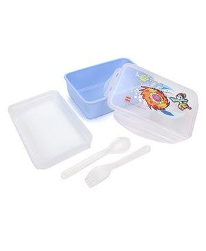 Cello Homeware Polo Lunch Box Krishna Print - Blue