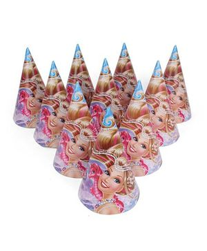 Barbie Paper Cap Pink - Pack Of 10