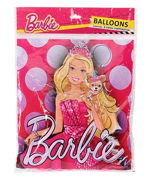 Barbie Party Balloons - 25 Pieces