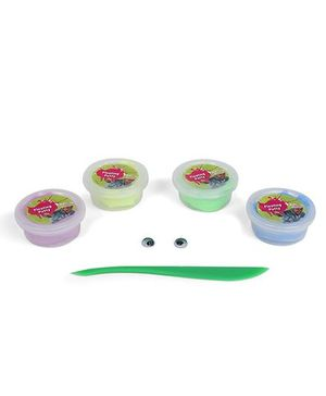 Chitra Pogo Mad Floating Putty Plop Down And Float - Pack Of 4