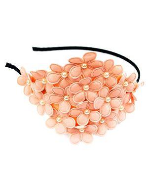 A.T.U.N Flower Hair Band - Peach