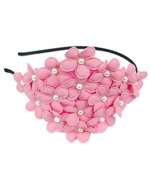 A.T.U.N Flower Hair Band - Pink