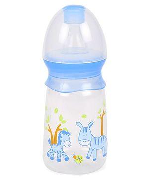 Mee Mee Printed Feeding Bottle Blue - 130 ml