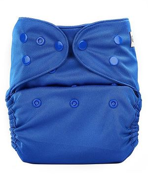 Bumberry Cloth Diaper Cover With One Bamboo Insert - Royal Blue
