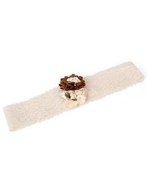Funkrafts Headband - Cream