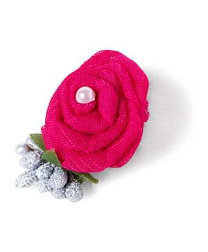 Funkrafts Rose Hair Clip - Pink