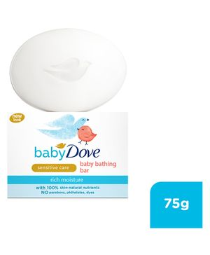 Baby Dove Baby Soap Bar Rich Moisture - 75 gm