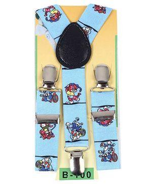Kid O Nation Suspenders - Light Blue
