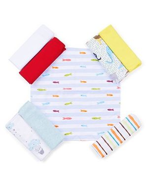 Ben Benny Napkins Set of 8 - Multicolour