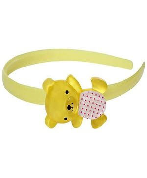 Hair Band - Happy Teddy Print