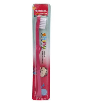 Morisons Baby Dreams Shiny Bright Tooth Brush - Pink