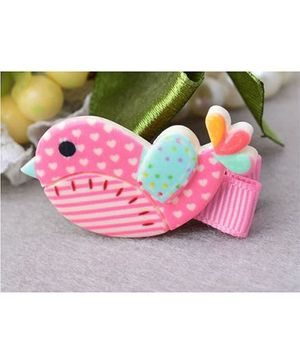 Angel Closet Bird Hair Clip - Pink