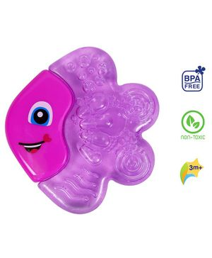 1st Step Fish Shaped Water Teether - Blue