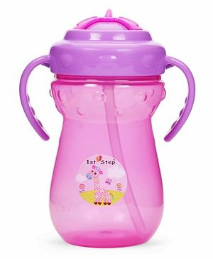 1st Step Sipper Cup With Handles Pink - 350 ml
