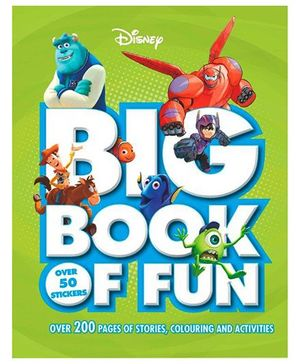 Disney Big Book of Fun - English