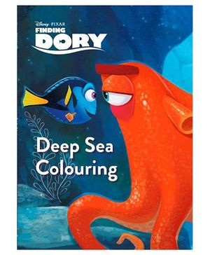 Disney Pixar Finding Dory Deep Sea Colouring - English