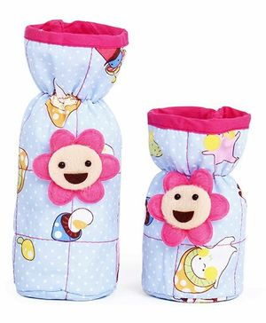 1st Step Bottle Cover Pack of 2 Multi Print (Color May Vary)