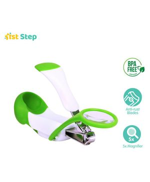 1st Step Magnifying Glass Nail Clipper - Green